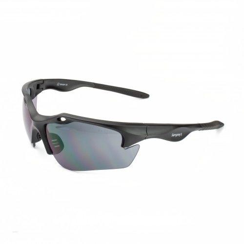 Okulary ochronne SAMPREYS SA 820G szybki przyciemniane z filtrem UV