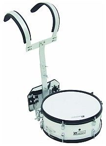 Dimavery MS-200 Marching Snare, white, bęben marszowy