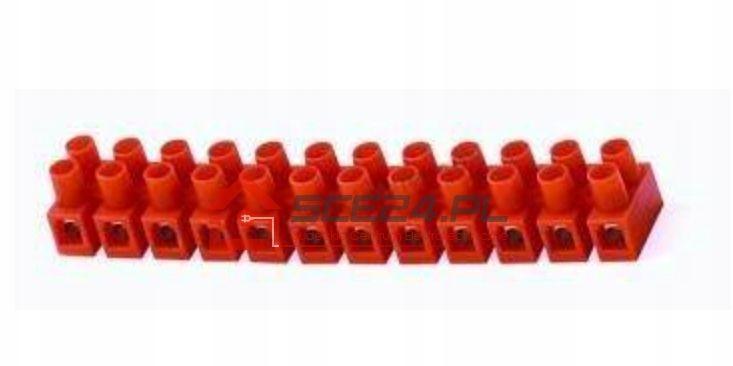 Listwa zaciskowa 12-TOROWA ZŁĄCZKA 4mm2