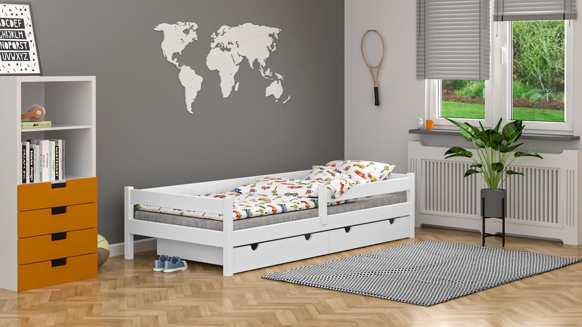 Łóżko dla dzieci pojedyncze Lara