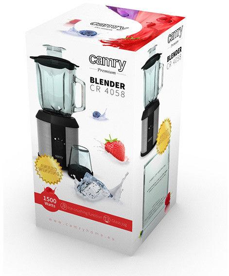 Camry Blender kielichowy z rozdrabniaczem CR 4058