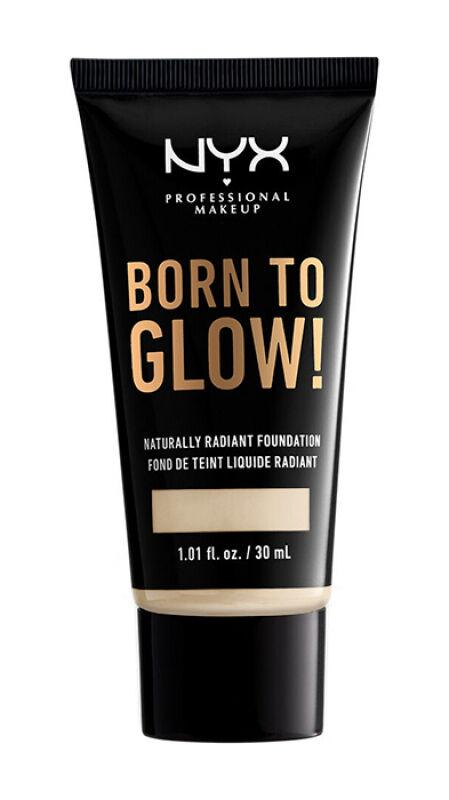 NYX Professional Makeup - BORN TO GLOW - NATURALLY RADIANT FOUNDATION - Rozświetlający podkład do twarzy - WARM VANILLA