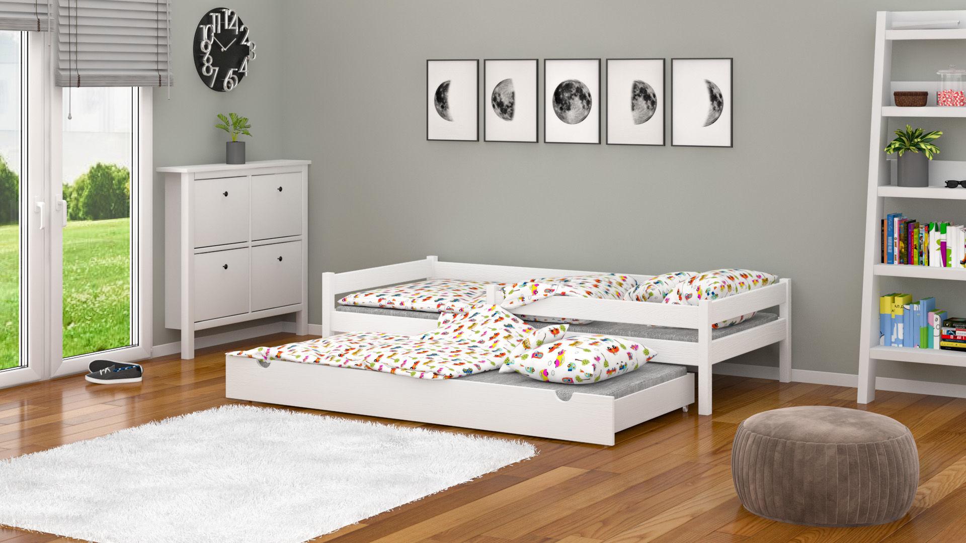 Łóżko dla dzieci Lara Duo z szufladą z funkcją spania