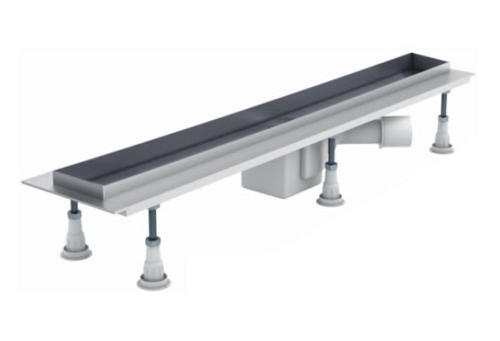 Schedpol odpływ liniowy z maskownicą Steel 60x8x9,5cm OLSL60/ST