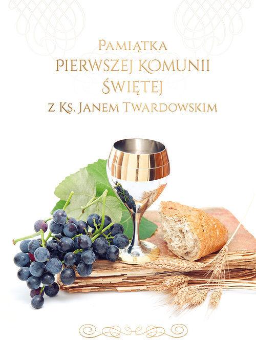 Pamiątka I Komunii Świętej z ks. Janem Twardowskim ZAKŁADKA DO KSIĄŻEK GRATIS DO KAŻDEGO ZAMÓWIENIA