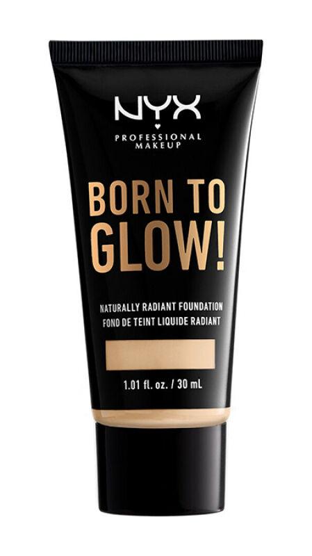 NYX Professional Makeup - BORN TO GLOW - NATURALLY RADIANT FOUNDATION - Rozświetlający podkład do twarzy - NEUTRAL BUFF
