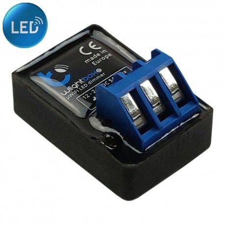 Sterownik ściemniacz oświetlenia LED 12/24V WiFi BleBox WLIGHTBOXS 0053