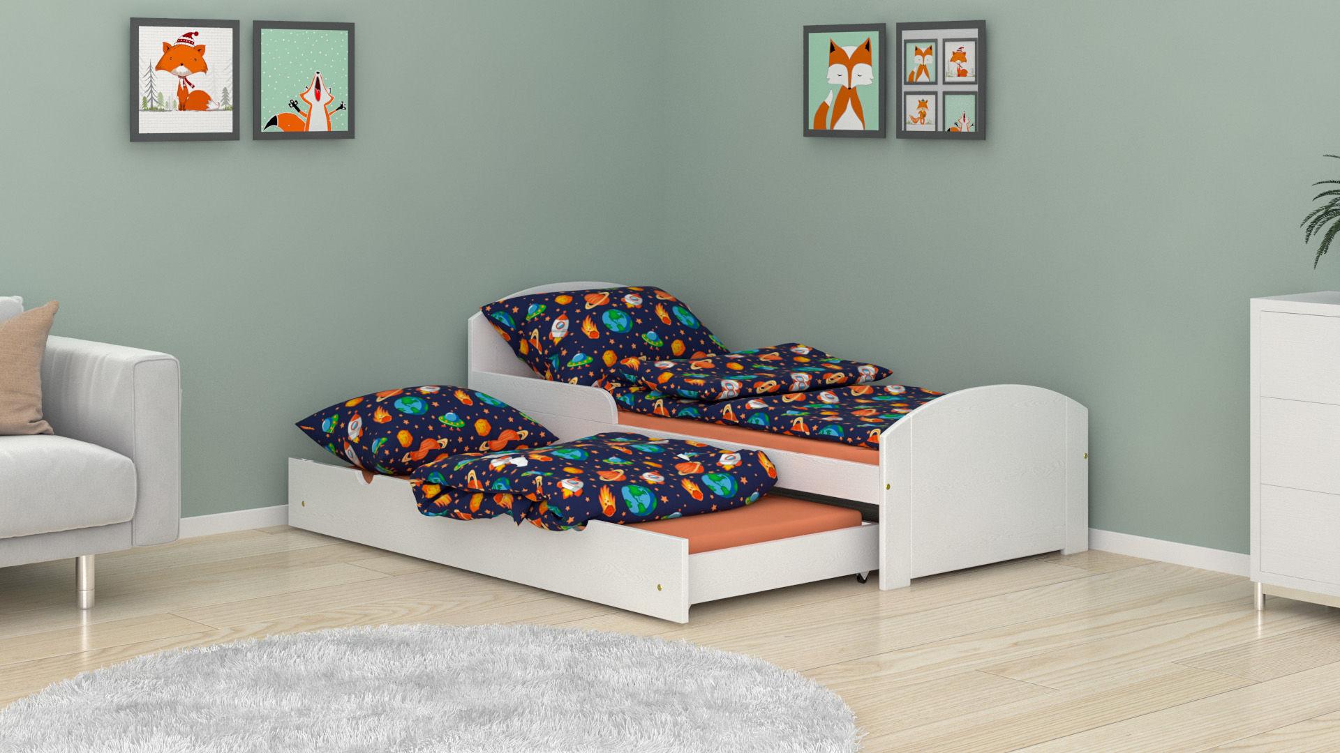 Łóżko dla dzieci Billy Duo z szufladą z funkcją spania