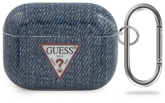Guess GUACAPTPUJULDB AirPods Pro cover granatowy/dark blue Jeans Collection