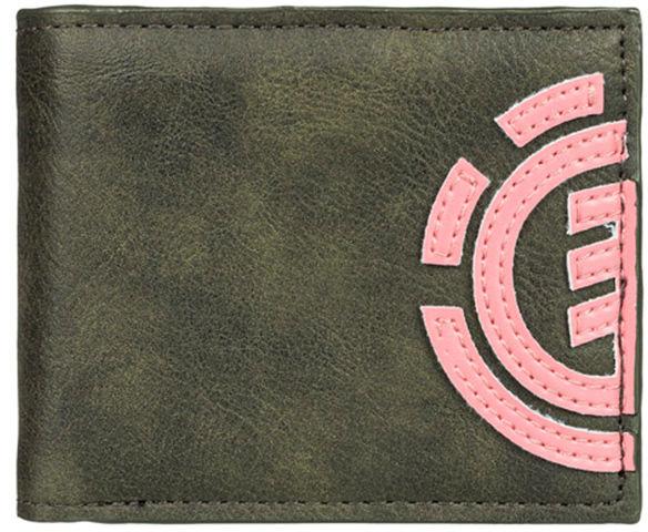 Element DAILY forest night mężczyzna luksusowy portfel