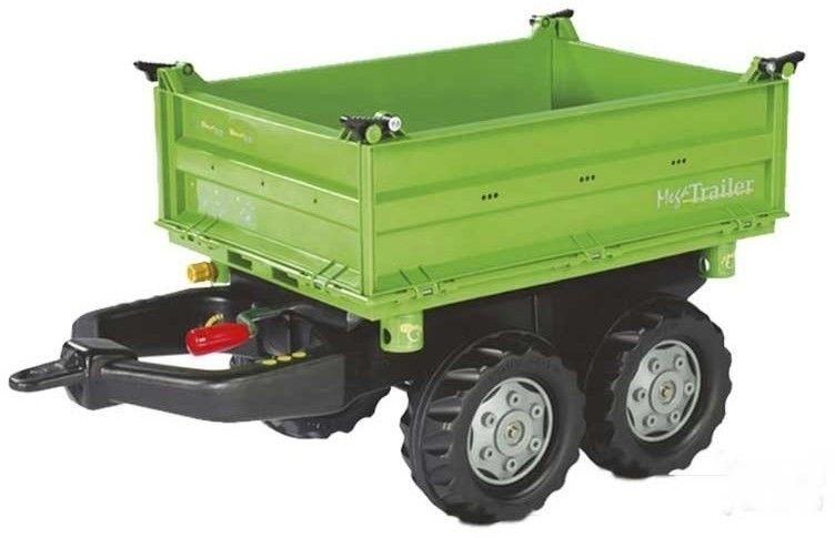 Rolly Toys rollyTrailer Przyczepa Wywrotka Mega Trailer do Traktora