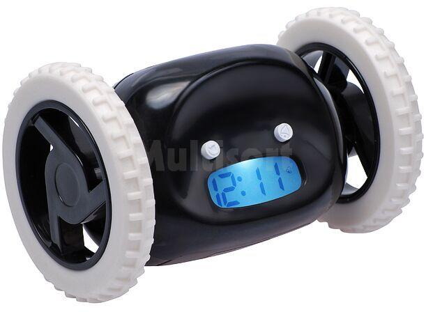 Odjazdowy budzik czarny
