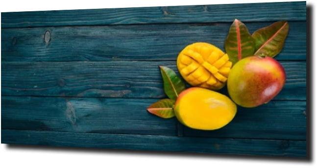 obraz na szkle Drewno mango owoc 125X50