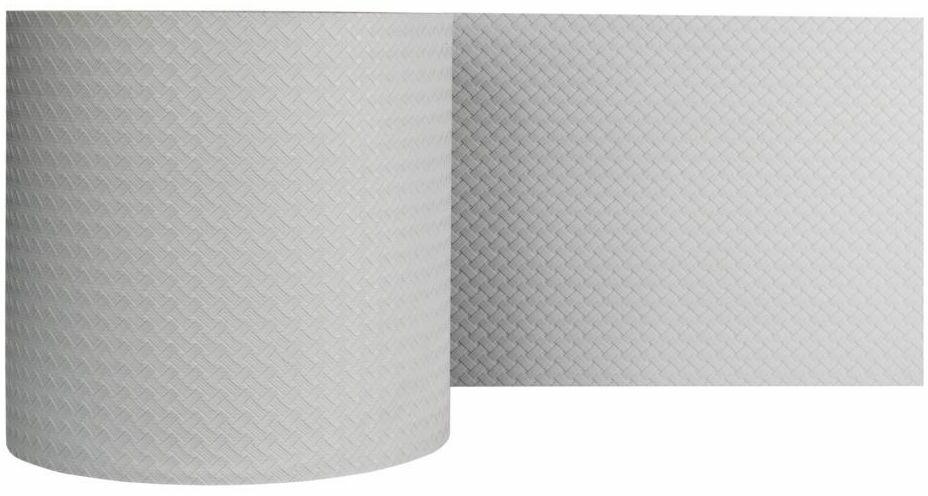 Taśma osłonowa RATTAN 5.1 m x 19 cm szara THERMOPLAST