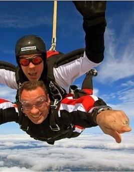Skok ze spadochronem  Elbląg