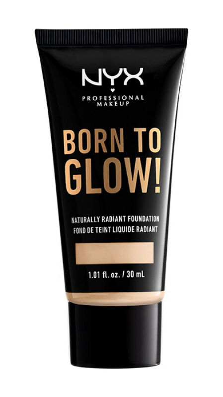 NYX Professional Makeup - BORN TO GLOW - NATURALLY RADIANT FOUNDATION - Rozświetlający podkład do twarzy - SOFT BEIGE