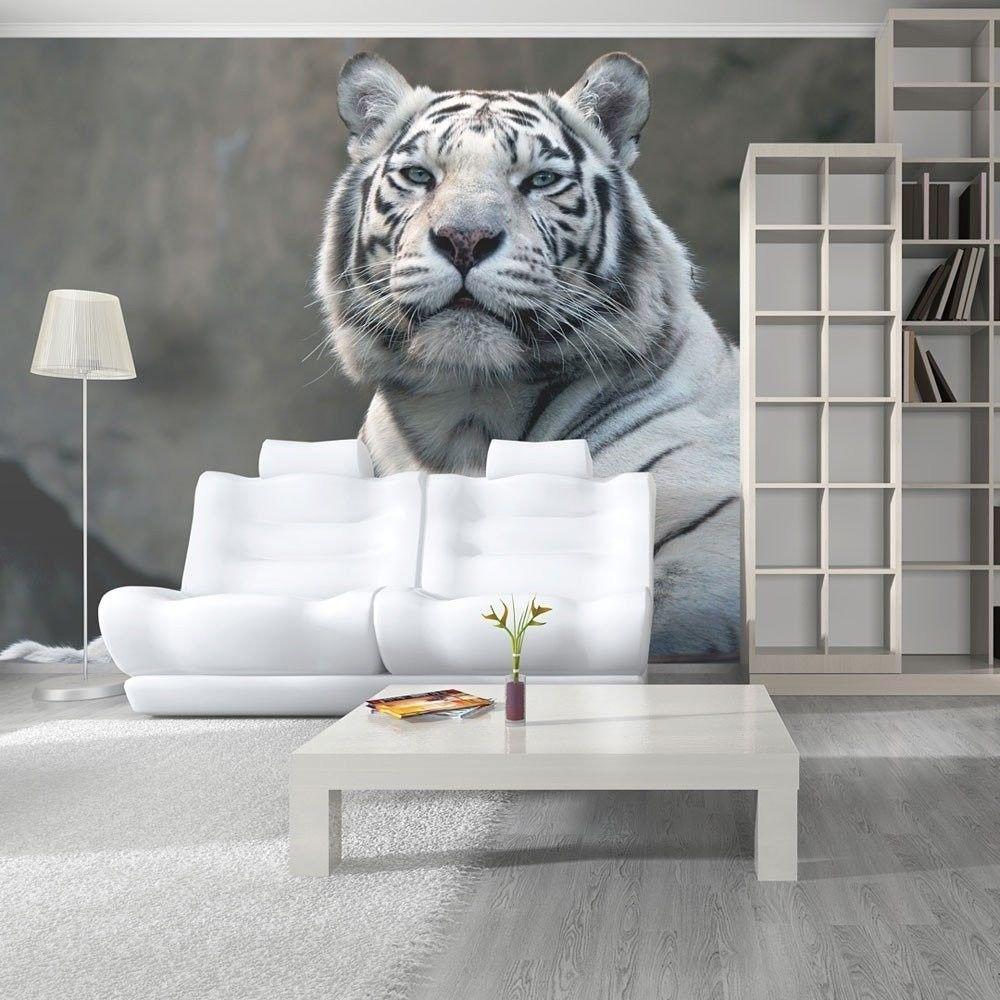Fototapeta - tygrys bengalski w zoo