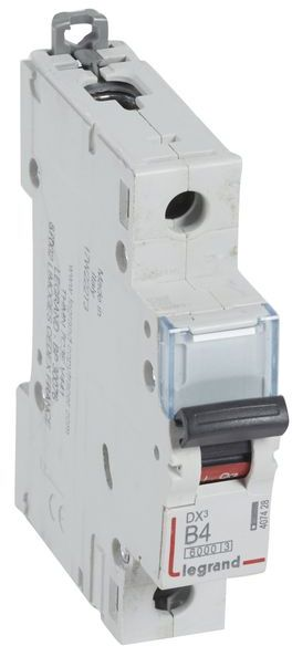 Wyłącznik nadprądowy 1P B 4A 6kA AC S301 DX3 407428
