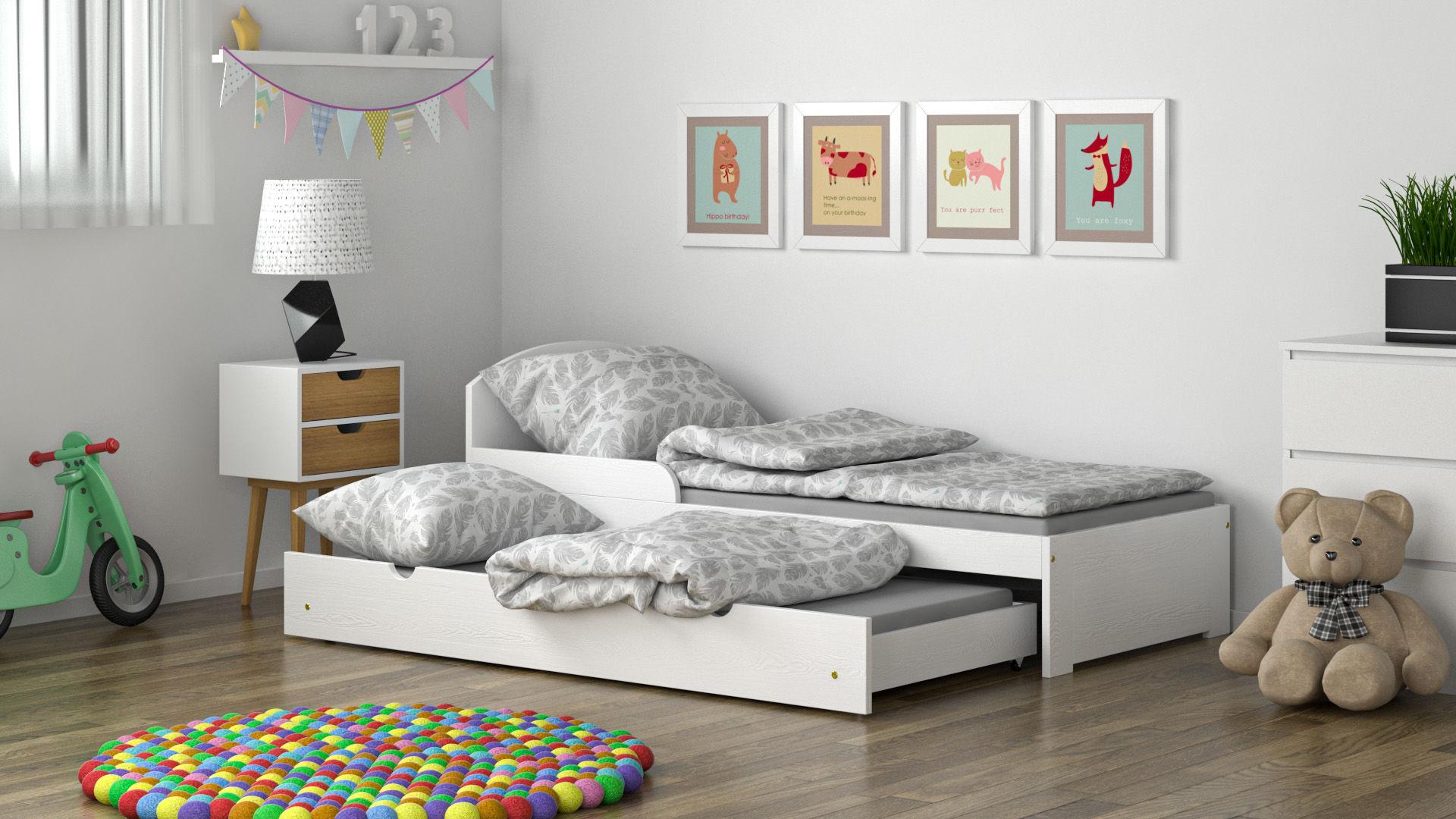 Łóżko dla dzieci Billy S Duo z szufladą z funkcją spania