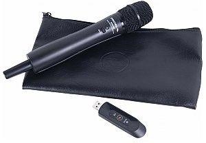 PROEL U24H Bezprzewodowy mikrofon do ręki USB 2,4 GHz do smartfonów i komputerów