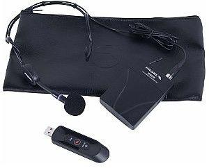 PROEL U24B Bezprzewodowy mikrofon Bodypack 2,4 GHz USB do smartfonów i komputerów
