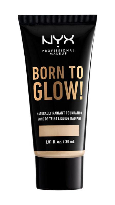 NYX Professional Makeup - BORN TO GLOW - NATURALLY RADIANT FOUNDATION - Rozświetlający podkład do twarzy - BUFF