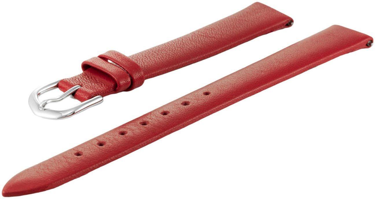 Skórzany pasek do zegarka 14 mm Bisset BS212 14/12 Red