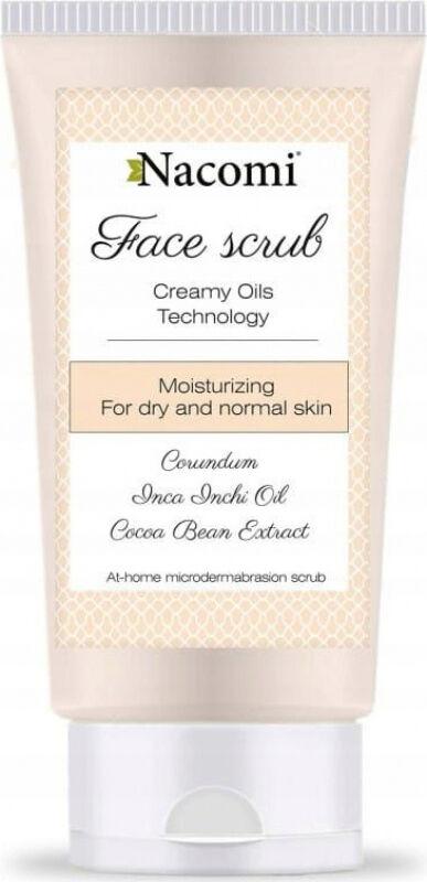 Nacomi - Face Scrub - Nawilżający peeling do twarzy - 85ml