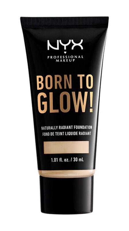 NYX Professional Makeup - BORN TO GLOW - NATURALLY RADIANT FOUNDATION - Rozświetlający podkład do twarzy - BEIGE
