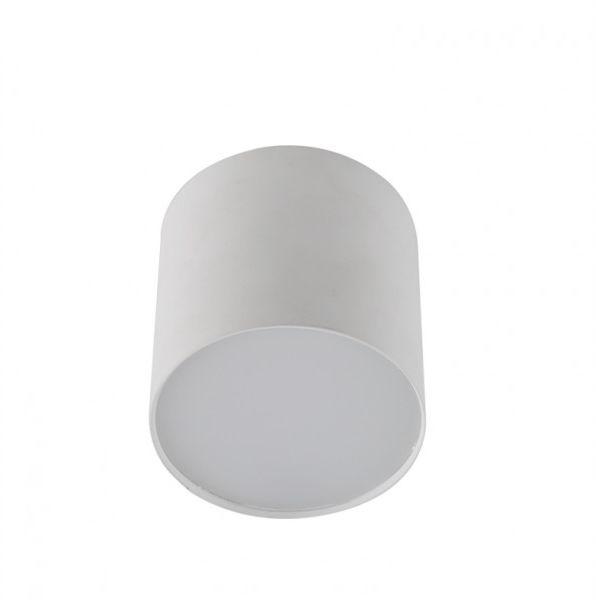 Plafon Mateo S AZ1455 AZzardo minimalistyczna oprawa w kolorze białym