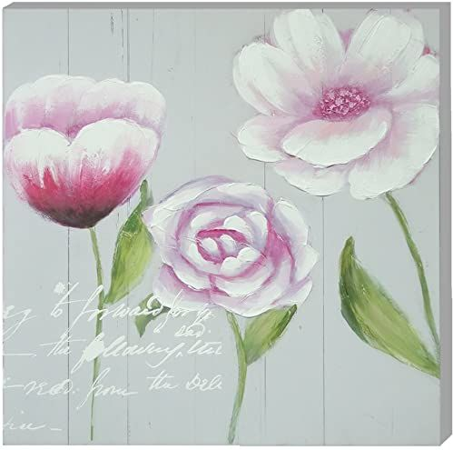 Emde CH112001-1 obraz na płótnie tulipan różowy i Cosmos