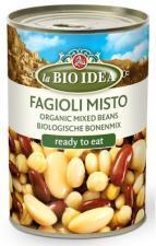Fasola mix (puszka) BIO 400 g La Bio Idea