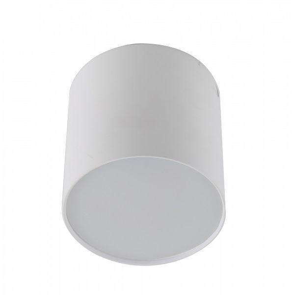 Plafon Mateo M AZ1456 AZzardo minimalistyczna oprawa w kolorze białym