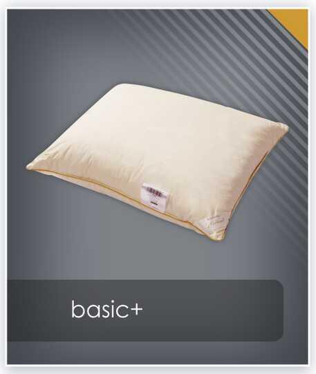 Poduszka puchowa BASIC+ AMZ jednokomorowa - puch 70%