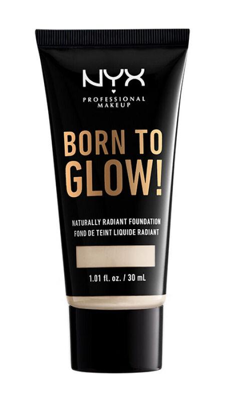 NYX Professional Makeup - BORN TO GLOW - NATURALLY RADIANT FOUNDATION - Rozświetlający podkład do twarzy - ALABASTER
