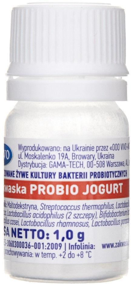 Vivo Zakwaska Probio Jogurt żywe kultury bakterii - 1 fiolka 0,5 g