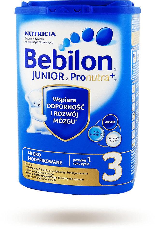 Bebilon 3 mleko modyfikowane powyżej 1 roku życia proszek 800 g