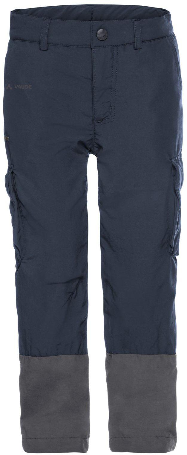Vaude Detective Cargo Pants spodnie chłopięce niebieski Eclipse 110-116