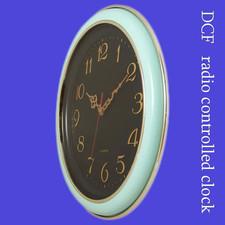 Duży zegar 2D sterowany radiowo DCF