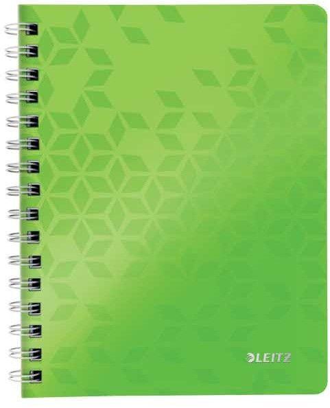 Kołozeszyt A5/80 KRATKA LEITZ WOW zielony /46410054/ !dostępność 20-09-2021!