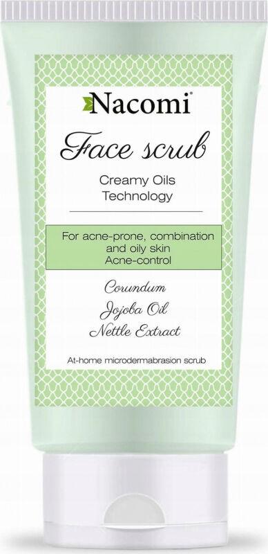 Nacomi - Face Scrub - Przeciwtrądzikowy peeling do twarzy - 85ml