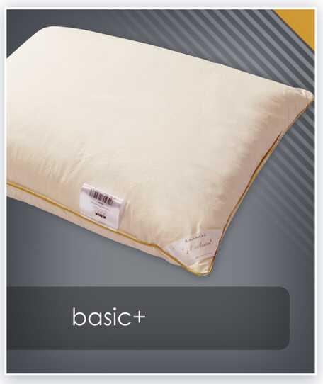 Poduszka puchowa BASIC+ AMZ trzykomorowa - puch 70%