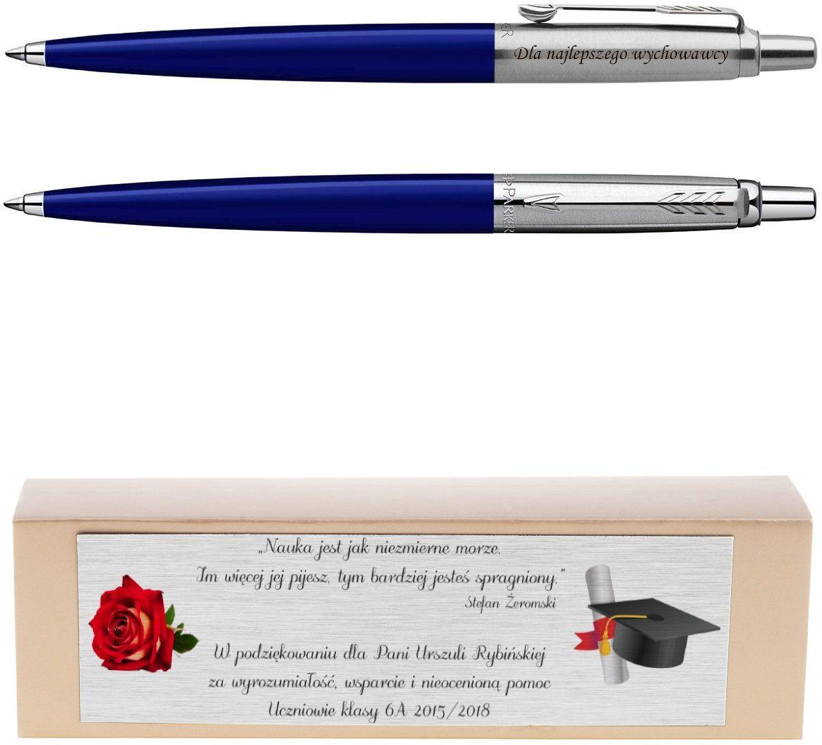 Długopis Parker Jotter Special Niebieski Grawer Dedykacja Na Prezent