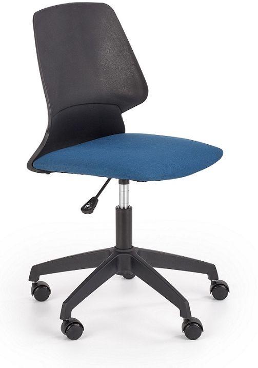Krzesło młodzieżowe BINGO czarny-niebieski