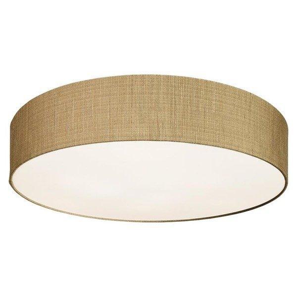Lampa sufitowa plafon z abażurem TURDA IV złoty śr. 65cm