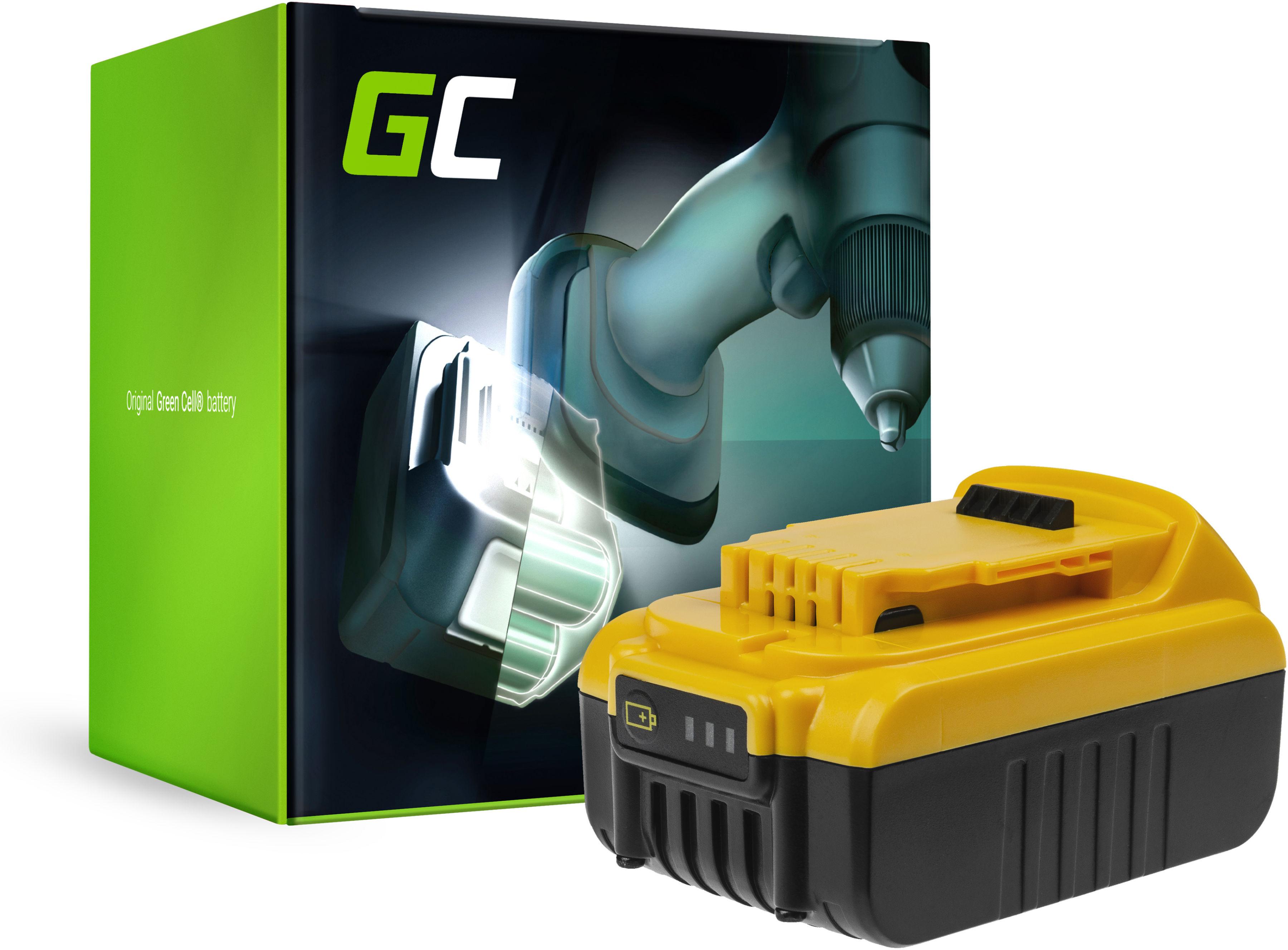 Bateria Green Cell (3Ah 14.4V) DCB140 DCB141 DCB142 DCB143 DCB145 XR do DeWalt DCD734C2 DCD730 DCD730C2 DCD732D2 DCD735 DCD733C2
