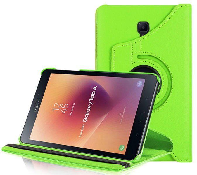 Etui obrotowe Alogy 360 do Samsung Galaxy Tab A 8.0 T380/ T385 zielone