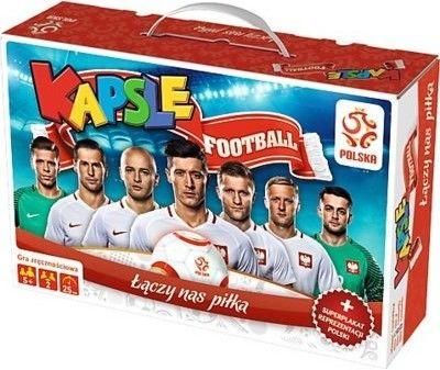 Trefl - Gra Kapsle football PZPN + plakat reprezentacji 01365