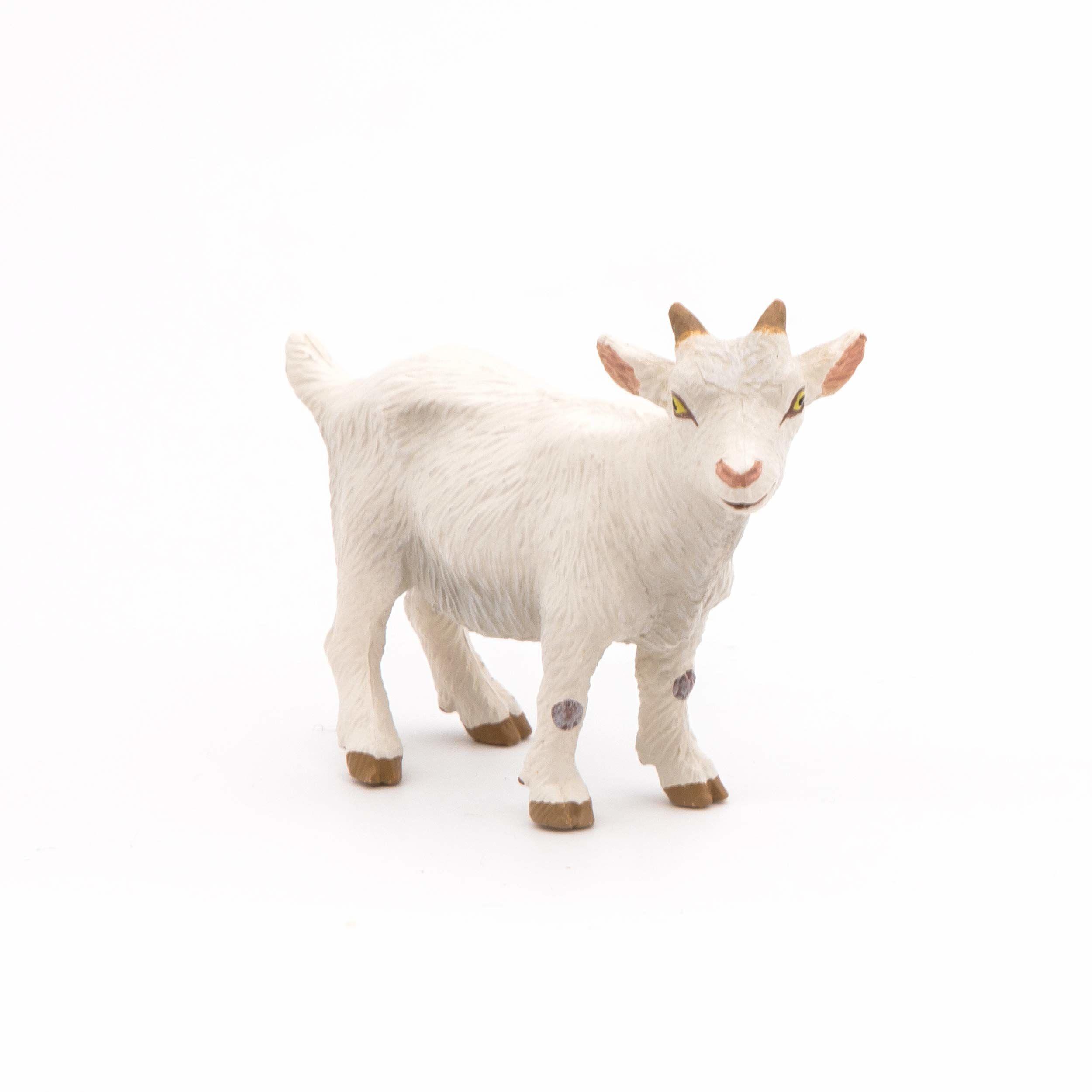 Papo 51146 biała figurka dla dzieci koziej farmie, wielokolorowa