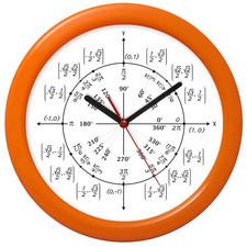 Zegar ścienny geometria kolor #2
